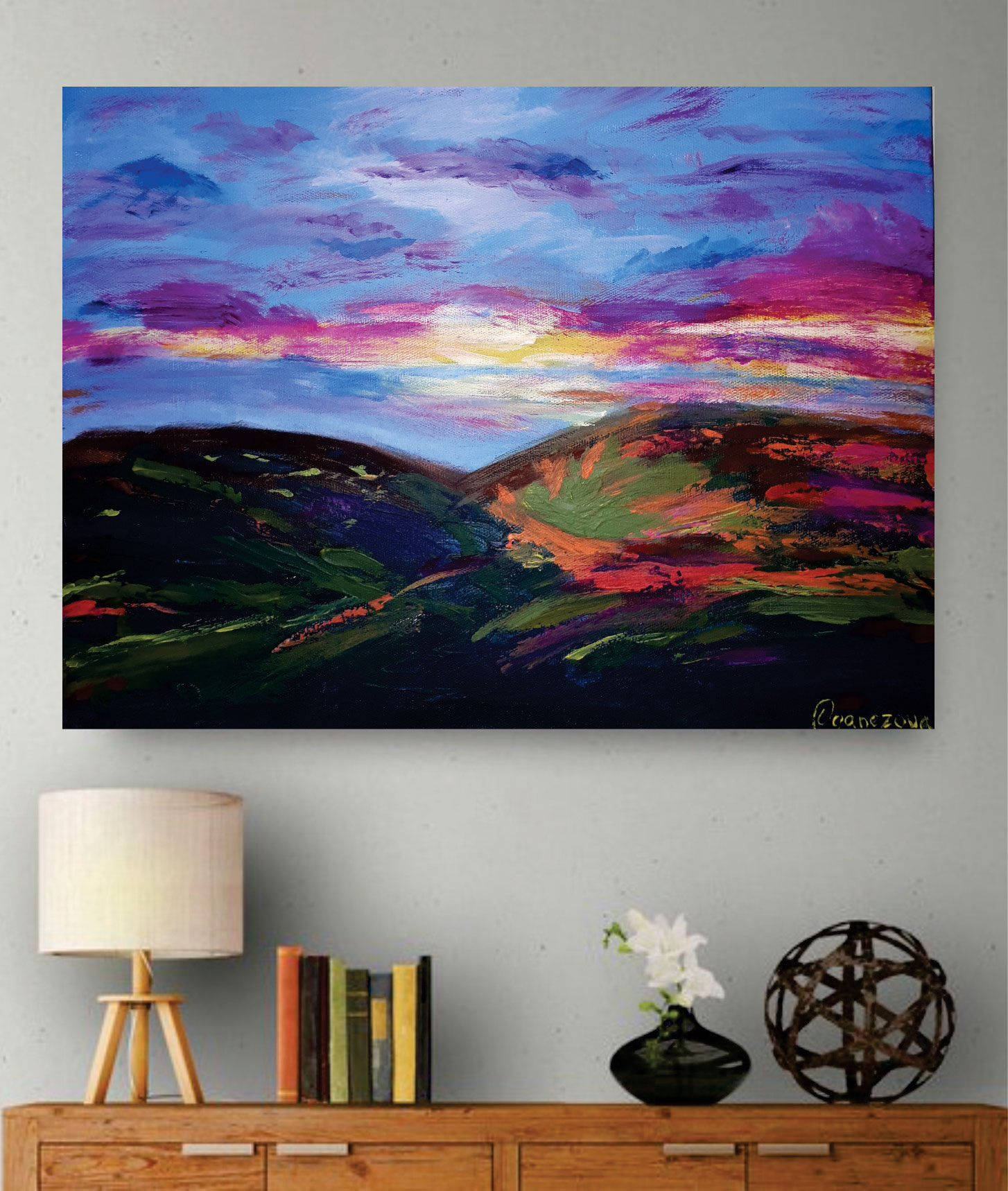 Hills colours